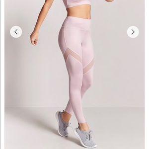 Active sheer mesh panel leggings 🎀